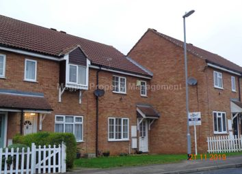 Thumbnail 3 bedroom terraced house to rent in Monarch Road, Eaton Socon, St. Neots