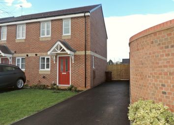 Thumbnail 2 bed semi-detached house to rent in Doney Place, Stone, Staffordshire