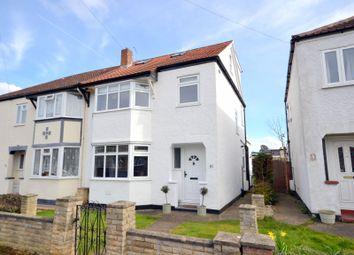 Thumbnail 4 bed semi-detached house for sale in Green Lane, Burwood Park, Hersham, Walton-On-Thames