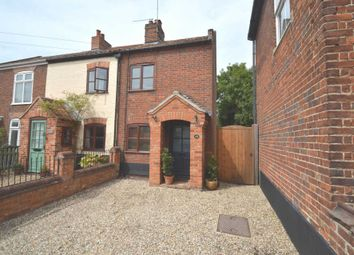 Thumbnail 2 bed cottage for sale in The Street, Costessey, Norwich