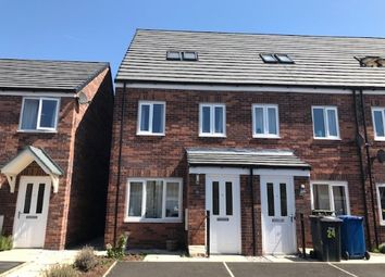 Thumbnail 3 bed town house for sale in Gate Lane, Radcliffe, Greater Manchester