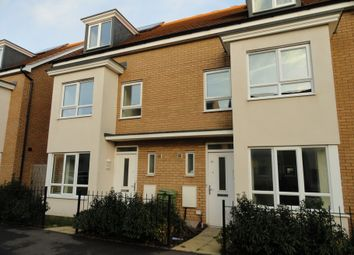 Thumbnail 4 bed town house to rent in Warwick Avenue, Broughton, Milton Keynes