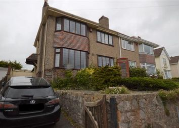 Thumbnail 3 bed semi-detached house for sale in Foxhole Road, Torquay, Devon