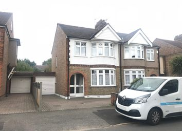 Thumbnail 3 bed semi-detached house to rent in Philip Avenue, Romford