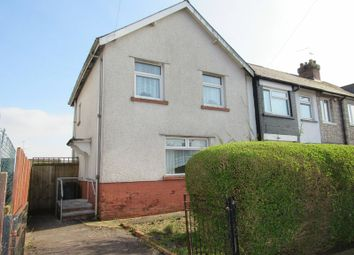 Thumbnail 3 bedroom end terrace house for sale in Cambria Road, Cardiff
