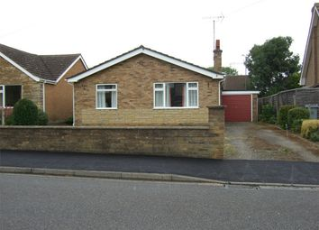 Thumbnail 2 bed detached bungalow to rent in St Gilberts Road, Bourne, Lincolnshire