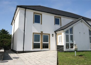 Thumbnail 3 bed semi-detached house for sale in The Fairways, Chalet Road, Portpartrick, Stranraer