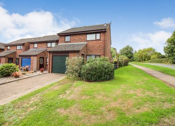 Thumbnail 3 bed detached house for sale in Medeswell Close, Brundall, Norwich