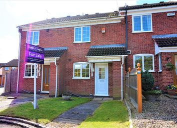 Thumbnail 2 bedroom town house for sale in Prestbury Close, Derby