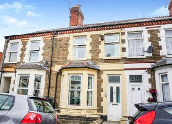 Thumbnail 3 bed terraced house for sale in Alfred Street, Roath