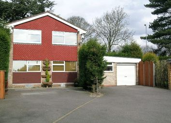 Thumbnail 4 bed detached house to rent in Hillcrest Close, Off Comberford Road, Tamworth, Staffordshire