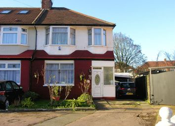 Thumbnail 3 bed terraced house for sale in Hereward Gardens, London