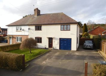 Thumbnail 4 bed semi-detached house for sale in Glebe Close, Cheswardine, Market Drayton
