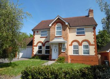 Thumbnail 4 bed detached house for sale in Tower Road, Peatmoor, Swindon