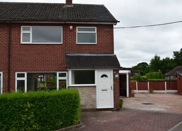 Thumbnail 3 bed semi-detached house to rent in Ashendene Grove, Stoke-On-Trent
