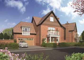 Thumbnail 4 bedroom detached house for sale in Bell Foundary Lane, Wokingham