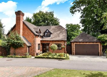 Thumbnail 4 bed detached house for sale in Hawkins Close, Yateley, Hampshire
