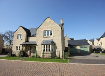 Thumbnail 5 bed detached house to rent in Pips Field Way, Stoneleigh, Fairford