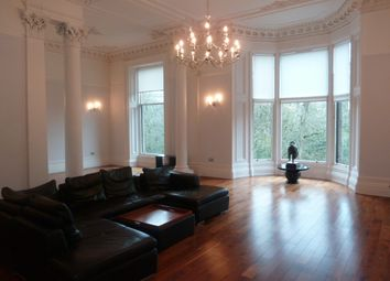 Thumbnail 4 bed flat to rent in Clairmont Gardens, Glasgow