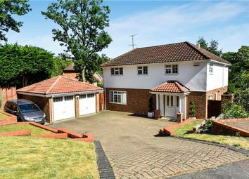 Thumbnail 4 bed detached house for sale in Langley Drive, Camberley, Surrey