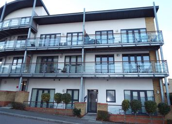 Thumbnail 2 bed flat for sale in Waterstone Way, Greenhithe, Kent