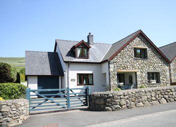 Thumbnail 4 bed detached house for sale in Llwyngwril, Gwynedd