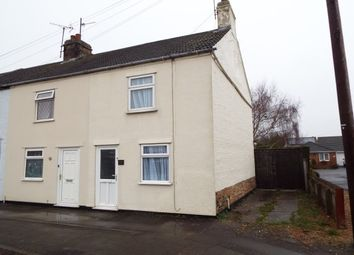 Thumbnail 2 bedroom end terrace house to rent in Eyebury Road, Eye, Peterborough