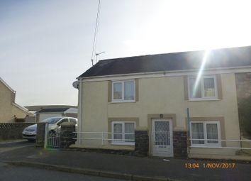 Thumbnail 3 bed semi-detached house for sale in Cwmgarw Road, Upper Brynamman, Ammanford, Carmarthenshire.