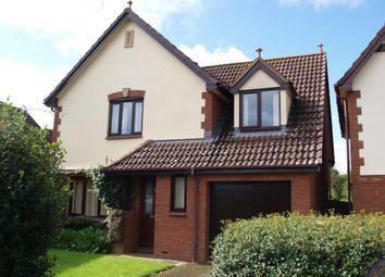 Thumbnail 4 bed detached house for sale in Slewton Crescent, Whimple, Exeter