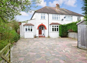Thumbnail 4 bedroom semi-detached house for sale in Findon Road, Findon Valley, West Sussex