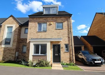 Thumbnail 4 bed semi-detached house for sale in Compton Place, Stevenage