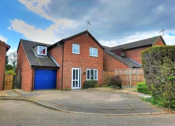 Thumbnail 4 bedroom detached house for sale in All Saints Road, Framlingahm Earl, Norwich
