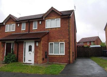 Thumbnail 3 bed semi-detached house to rent in Merrydale Drive, Croxteth, Liverpool