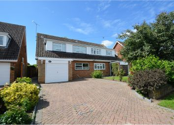 Thumbnail 4 bedroom semi-detached house to rent in Norsey View Drive, Billericay