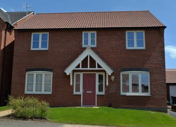 Thumbnail 4 bed detached house for sale in Victory Gardens, Fleckney, Leicester