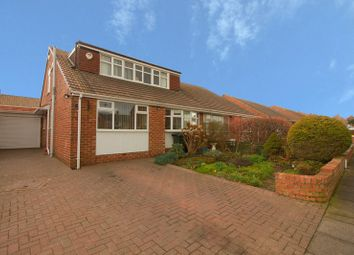 Thumbnail 4 bed semi-detached bungalow for sale in Beresford Road, Marden Farm, Cullercoats
