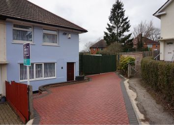 Thumbnail 3 bed end terrace house to rent in Dunstall Grove, Birmingham
