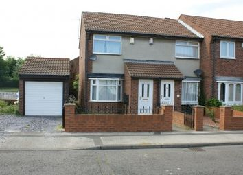 Thumbnail 2 bed semi-detached house to rent in Raleigh Close, South Shields