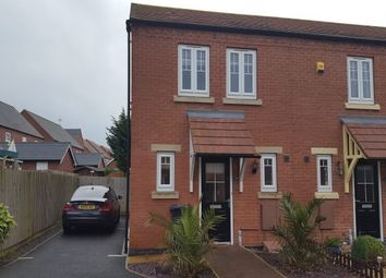 Thumbnail 3 bed property to rent in Hope Way, Church Gresley, Swadlincote, Derbys.