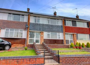 Thumbnail 3 bed terraced house for sale in Drayton Crescent, Coventry