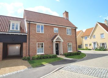Thumbnail 4 bed detached house for sale in Lingwood Close, Barningham, Bury St. Edmunds