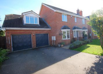 Thumbnail 5 bed detached house for sale in Shearers Drive, Spalding