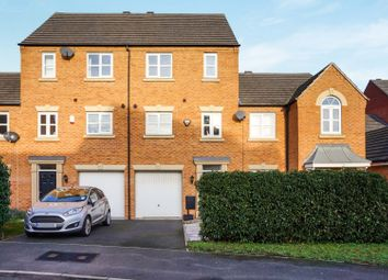 Thumbnail 3 bedroom town house for sale in Channel Crescent, City Point, Derby