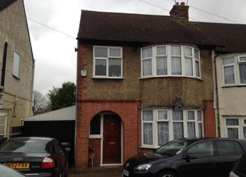 Thumbnail 3 bed semi-detached house to rent in Chester Avenue, Luton