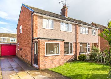 Thumbnail 3 bed semi-detached house for sale in Longwood Crescent, Leeds, West Yorkshire