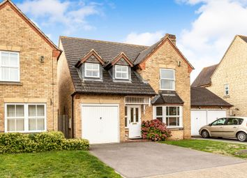 Thumbnail 4 bedroom detached house for sale in Reedmace Road, Bicester