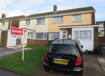 Thumbnail 3 bedroom semi-detached house for sale in Rowbrook Close, Paignton