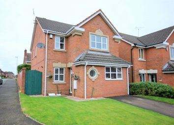 Thumbnail 3 bed detached house for sale in Peregrine Grove, Longton, Stoke-On-Trent