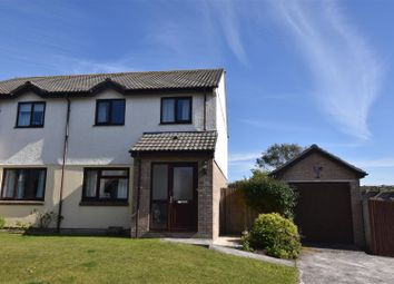 Thumbnail 3 bed semi-detached house for sale in The Paddock, Redruth