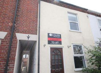 Thumbnail 2 bed terraced house to rent in Leonards Street, Norwich